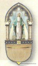 Szűz Mária szenteltvíztartó