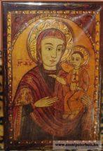 Kasírozott ikon Szűzanya (Bécsi)
