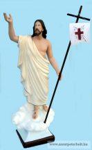 Feltámadt Krisztus szobor 65 cm