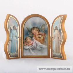 Szárnyas oltár-angyal