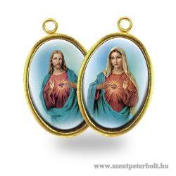 Jézus szíve és Mária szíve