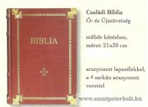 Családi Biblia Ószövetségi és Újszövetség