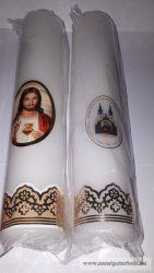 Szentképes gyertya 5,5 cm x 27 cm