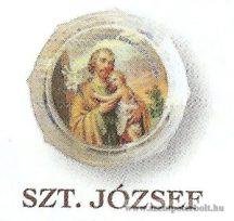 Szent József rózsafüzér dobozban