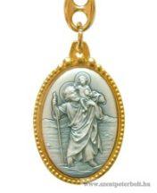 Kulcstartó Szent Kristóf