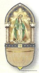 Csodás Mária szenteltvíztartó