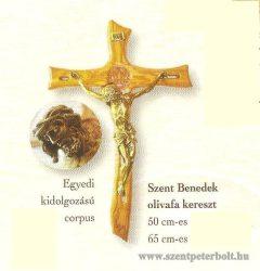 Szent Benedek olivafa kereszt