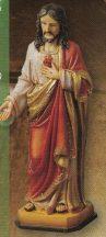 Jézus szíve szobor
