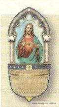 Jézus szíve szenteltvíztartó