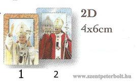 Boldog II. János Pál pápa hűtőmágnes