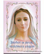 Hűtőmágnes védelmező Mária