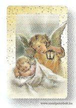 Hűtőmágnes gyerek angyallal