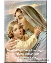 Hűtőmágnes Mária kis Jézussal