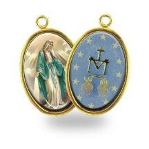 Kétoldalas Mária szíve érem