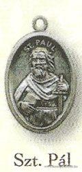 Szent Pál ezüstözött érem