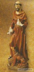 Szent Ferenc szobor