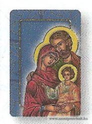Szent család hűtőmágnes