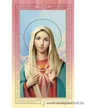 Mária szíve imakép