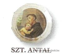 Szent Antal rózsafüzér dobozban