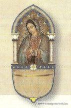Mária szenteltvíztartó