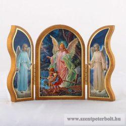 Szárnyas oltár-örző angyal