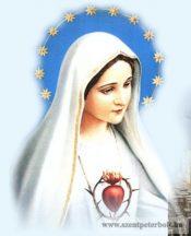 Fatimai Mária hűtőmágnes
