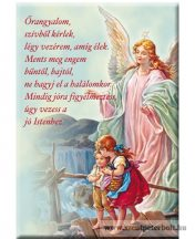 Hűtőmágnes őrző angyal