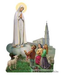 Fa hűtőmágnes (Fatima)