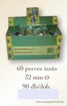 Széntabletta 60 perces izzásig dobozban