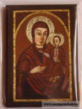 Kasírozott ikon Máriapócsi Szűzanya