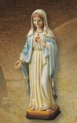 Mária Szíve szobor