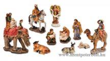 Betlehemi figura csoport kollekció 11 darabos