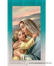 Szűz Mária kis Jézussal imakép