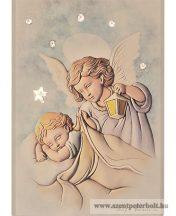 Exkluzív faplakett angyalkák