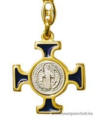 Szent Benedek kereszt kulcstartó