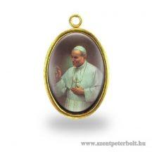 II. János Pál pápa érem
