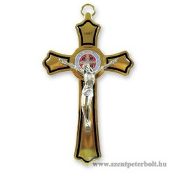Szent Benedek fémkereszt
