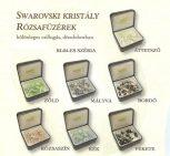 Swarovski kristály és ezüst rózsafüzérek